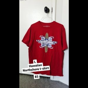 Red Hawaiian T-Shirt
